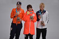 Olympics PyeongChang 240218 OLYMPIC GAMES: PYEONGCHANG: 24-02-2018, Gangneung Oval, Long Track, ©photo Martin de Jong