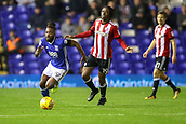 1st November 2017, St. Andrews Stadium, Birmingham, England; EFL Championship football, Birmingham City versus Brentford; Jacques Maghoma of Birmingham City gets away from his man and sets off down the wing