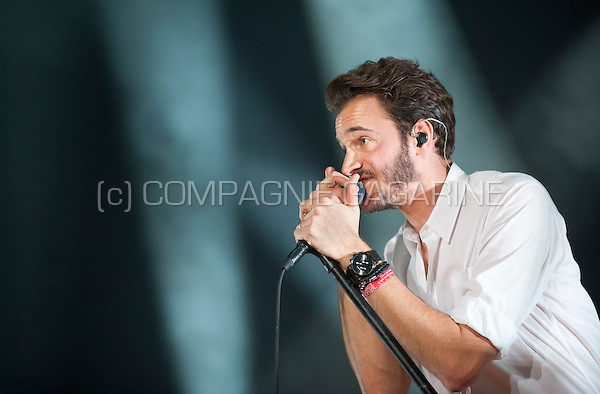 English rock band Editors performing in Forest National, Brussels (Belgium, 31/10/2015)