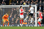 Tottenham's Harry Kane scoring his sides second goal<br /> <br /> Barclays Premier League- Tottenham Hotspurs vs Arsenal  - White Hart Lane - England - 7th February 2015 - Picture David Klein/Sportimage