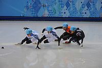 SKATING: Russia Speed Skaters 2014, ©foto Martin de Jong