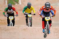 MEDELLIN- COLOMBIA -29-05-2016: Aspecto de las competencias en la categoría elite en el marco del Campeonato Mundial de BMX 2016 que se realiza entre el 25 y el 29 de mayo de 2016 en la ciudad de Medellín. / Aspect of competencies in Elite´s category as part of the 2016 BMX World Championships to be held between 25 and 29 May 2016 in the city of Medellin. Photo: VizzorImage / Cristian Alvarez / Cont.