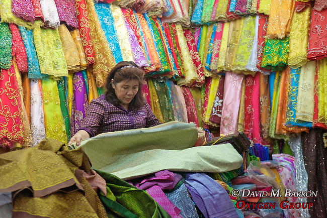 Fabric Store At Phsar Nath Market