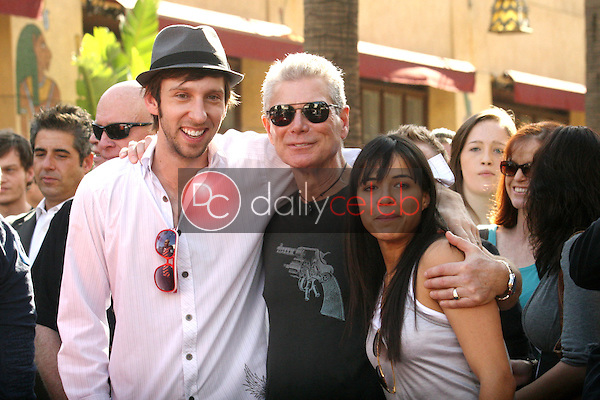 Joel David Moore, Stephen Lang and Michelle Rodriguez<br />