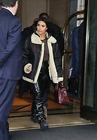 NEW YORK, NY- NOVEMBER 7: Kim Kardashian West seen leaving the Ritz Carlton in New York City on November 07, 2019.     <br /> CAP/MPI/RW<br /> ©RW/MPI/Capital Pictures
