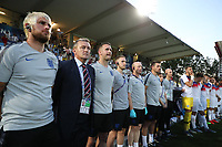 England listens to national anthem<br /> Cesena 18-06-2019 Stadio Dino Manuzzi <br /> Football UEFA Under 21 Championship Italy 2019<br /> Group Stage - Final Tournament Group C<br /> England - France<br /> Photo Cesare Purini / Insidefoto