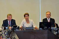 BRASÍLIA, DF, 21.01.2014 – AGENDA PRESIDENTE DILMA ROUSSEFF – A presidente Dilma Rousseff durante reunião com o presidente do Comitê Olímpico Internacional (COI) Thomas Bach, no palácio do Planalto em Brasília, nesta terça-feira, 21. (Foto: Ricardo Botelho / Brazil Photo Press).