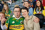 Kerry Fans John and Ann Marie Drummy at the All Ireland Football Final in Croke Park on Sunday.