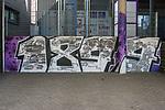 22.03.2020, Stadion an der Bremer Brücke, Osnabrück, Rund um das Stadion an der Bremer Brücke<br /> <br /> <br /> im Bild<br /> Graffiti vom VfL Osnabrück. Feature / Symbol / Symbolfoto / charakteristisch / Detail<br /> <br /> Foto © nordphoto / Paetzel