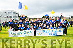 Keel GAA and Listry GAA at the Killarney Féile parade on Saturday evening