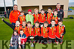 St Brendan's Park, Tralee  U11 A team celebrate winning the Kerry Schoolboys final beating Mastergeeha 4-1 at Mounthawk, Tralee last Friday evening.