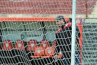 SAO PAULO, SP, 28.07.2014 - TREINO PORTUGUESA - Marcelo Veiga treinador da Portuguesa durante sessao de treinamento no Estadio do Caninde na regiao norte de Sao Paulo, nesta segunda-feira, 28. (Foto: Dorival Rosa / Brazil Photo Press).