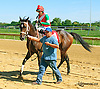 Theresa's Honor winning at Delaware Park on 9/23/15