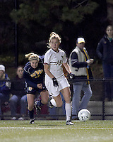 "Boston College forward Kristen Mewis (19) looks to cross ball for Boston College's first goal. Boston College defeated West Virginia, 4-0, in NCAA tournament ""Sweet 16"" match at Newton Soccer Field, Newton, MA."