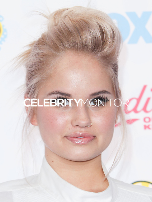 LOS ANGELES, CA, USA - AUGUST 10: Debby Ryan arrives at the Teen Choice Awards 2014 held at The Shrine Auditorium on August 10, 2014 in Los Angeles, California, United States. (Photo by Celebrity Monitor)