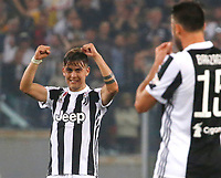 Paulo Dyabala of Juventus celebrates  during the  Coppa Italia ( Tim Cup) final soccer match,  Ac Milan  - Juventus Fc       at  the Stadio Olimpico in Rome  Italy , 09 May 2018
