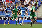 League Santander 2017-2018 - Game: 2<br /> RCD Espanyol vs CD Leganes: 0-1.<br /> Jose Manuel Jurado vs Joseba Zaldua.