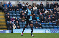 Gozie Ugwu of Wycombe Wanderers during the Sky Bet League 2 match between Wycombe Wanderers and Luton Town at Adams Park, High Wycombe, England on 6 February 2016. Photo by Andy Rowland.