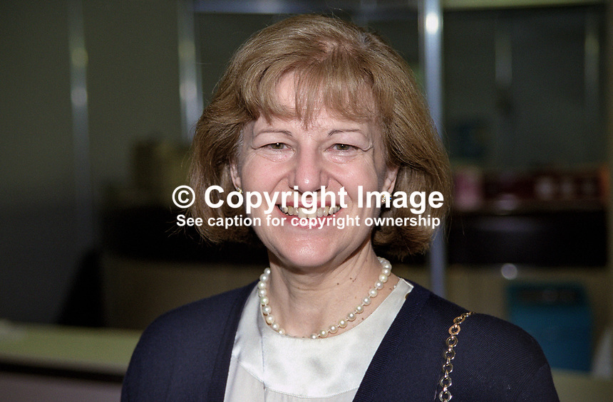 Baroness Emma Nicholson, MEP, Liberal Democrat, Britain, UK. Former Conservative Party MP. Ref:199909003. Taken at Liberal Democrats Annual Conference, Harrogate, England during September 1999<br /> <br /> Copyright Image from Victor Patterson, 54 Dorchester Park, Belfast, UK, BT9 6RJ<br /> <br /> t: +44 28 90661296<br /> m: +44 7802 353836<br /> vm: +44 20 88167153<br /> e1: victorpatterson@me.com<br /> e2: victorpatterson@gmail.com<br /> <br /> For my Terms and Conditions of Use go to www.victorpatterson.com