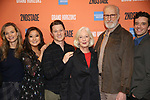 "Bess Wohl, Ashley Park, Ben McKenzie, Jane Alexander, James Cromwell and Michael Urie during the Second Stage Theater presents ""Grand Horizons"" at the Marquis Hotel on December 11, 2019 in New York City."