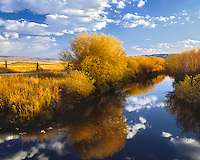 Donner und Blitzen River in Malheur National Wildlife Refuge in Harney County, Oregon