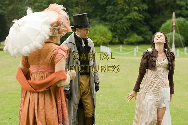 Georgia King, JJ Feild, Keri Russell<br /> in Austenland (2013) <br /> *Filmstill - Editorial Use Only*<br /> CAP/NFS<br /> Image supplied by Capital Pictures