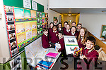 Mercy Moyderwell National School Tralee are going to the  Young Scientist Exhibition in Dublin this week with their project ' The Science of Cycling and why are students in our School not cycling to school. Pictured front l-r  Cliodhna O'Connor McCarthy and Tom Quilligan, Back l-r Leah Williams Morgan, Connor Mitchel, Ben O'Sullivan, Rakib Chowdhury, Mairead Mccarthy, Casey Borst, Kate Kerins, Tadghg Ounnas, Arnas Poskevicius, Damien Cronin, Thomas Maguire