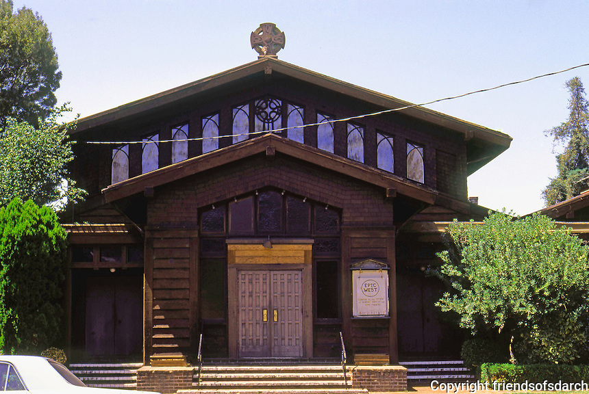Julia Morgan: St. John's Presbyterian Church, Berkeley, 1910. Photo '76.