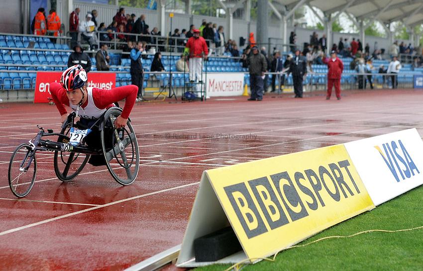 Photo: Paul Thomas..VISA Paralympic World Cup 2007. Athletics. 13/05/2007...Tatyana McFadden of the USA.