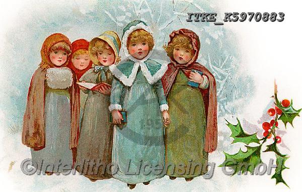 Isabella, CHRISTMAS SANTA, SNOWMAN, WEIHNACHTSMÄNNER, SCHNEEMÄNNER, PAPÁ NOEL, MUÑECOS DE NIEVE, nostalgic, paintings+++++,ITKEK5970883,#X#