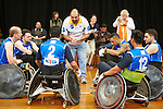 National Wheelchair Rugby Championships 2013 - Day Three<br /><br />Exhibition Match, WA Asteron Western Enforcers and celebrity players