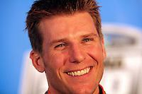 Daytona 500 winner Jamie McMurray, NASCAR Media day, Daytona International Speedway, Daytona beach, Florida, February 10, 2011.  (Photo by Brian Cleary/www.bcpix.com)