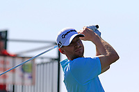 Vaughn Taylor (USA) tees off the 1st tee during Saturday's Round 3 of the Waste Management Phoenix Open 2018 held on the TPC Scottsdale Stadium Course, Scottsdale, Arizona, USA. 3rd February 2018.<br /> Picture: Eoin Clarke | Golffile<br /> <br /> <br /> All photos usage must carry mandatory copyright credit (&copy; Golffile | Eoin Clarke)