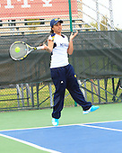 The University of Michigan women's tennis team beat Purdue, 4-0, in the Big Ten semifinals at the IU Varsity Tennis Courts in Bloomington, Ind., on April 27, 2013.
