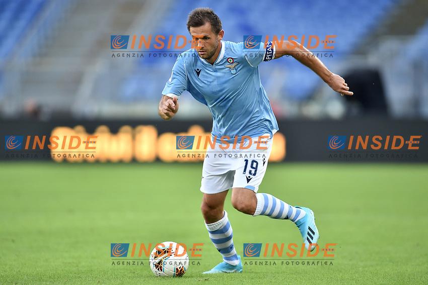 Senad Lulic of SS Lazio <br /> Roma 29-9-2019 Stadio Olimpico <br /> Football Serie A 2019/2020 <br /> SS Lazio - Genoa CFC <br /> Foto Andrea Staccioli / Insidefoto