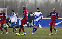 Adel Taarabt of QPR plays a through ball