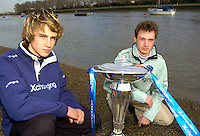 PUTNEY, LONDON, ENGLAND, 06.03.2006,2006 Boat race coxes left, Nick Brodie Oxford and Cambridge's Peter Rudge, named today at the 2006 Presidents Challenge and Boat Race Crew announcement held at the Winchester Club, Putney. © Peter Spurrier/Intersport-images.com..[Mandatory Credit Peter Spurrier/ Intersport Images] Varsity:Boat Race