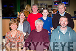 Enjoying a family night out on Friday night at the Kingdom Greyhound stadium were l-r  Liz O'Regan, Tom O'Regan, Thomas O'Regan, Bridget O'Connor, Denis O'Regan, Gavin O'Regan and Tim O'Connor