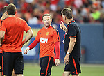 250714 Manchester Utd training in Denver