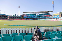 13th March 2020, Sydney Cricket Ground, Sydney, Australia;  General view of an empty ground due to the corona virus. International One Day Cricket. Australia versus New Zealand Blackcaps, Chappell–Hadlee Trophy, Game 1.