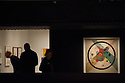 """""""Bauhaus: Art as Life"""", Barbican Art Gallery, 3 May - 12 August 2012, London, Britain. Exploring the world's most famous modern art and design school, Bauhaus: Art as Life is the biggest Bauhaus exhibition in the UK in over 40 years. Picture shows: Wassily Kandinsky's """"Circles in a Circle"""", 1923."""