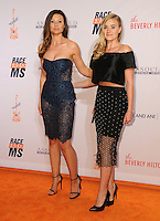 15 April 2016 - Beverly Hills, California - Aly Michalka, AJ Michalka. Arrivals for the 23rd Annual Race To Erase MS Gala held at Beverly Hilton Hotel. Photo Credit: Birdie Thompson/AdMedia