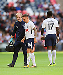 Tottenham's Kieran Trippier goes injured during the pre season match at Wembley Stadium, London. Picture date 5th August 2017. Picture credit should read: David Klein/Sportimage