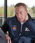 Kenny Shiels in his office at Kilmarnock's Garscube training ground