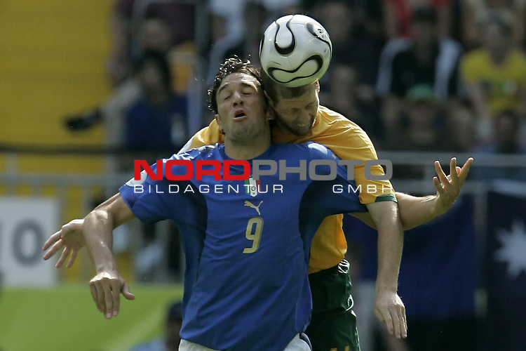 FIFA WM 2006 -  Round of Sixteen - / Viertelfinale <br /> Play      #53 (26-Jun) - Italien - Australien<br /> <br /> TONI-CHIPPERFIELD<br /> <br /> <br /> Foto &copy; nordphoto