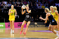 Silver Ferns&rsquo; Katrina Grant in action during the International Netball Constellation Cup - NZ Silver Fans v Australia Diamonds at TSB Bank Arena, Wellington, New Zealand on Thursday 18 October  2018. <br /> Photo by Masanori Udagawa. <br /> www.photowellington.photoshelter.com