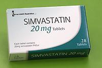 Simvastatin<br /> Date:  25.01.2006<br /> Ref: B309_093233_0002 <br /> COMPULSORY CREDIT: UPPA/Photoshot