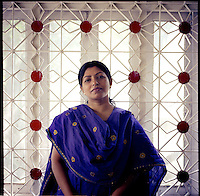 BANGLADESH. Dhaka. June 2005..Monira Rahman, Director of the Acid Survivors Foundation Hospital in Dhaka..©Andrew Testa