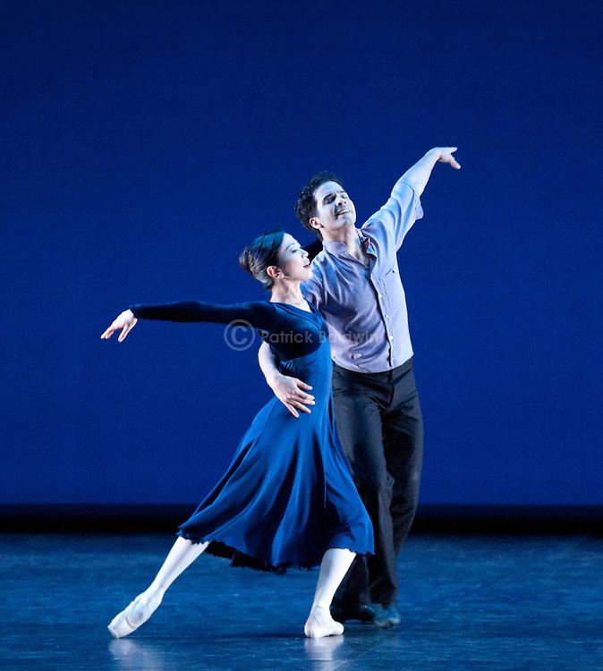 "English National Ballet. ""Duet"". Choregrapher: Wayne Eagling."