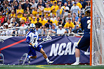 FOXBORO, MA - MAY 28: Jeremy Burns (6) of the Limestone Saints during the Division II Men's Lacrosse Championship held at Gillette Stadium on May 28, 2017 in Foxboro, Massachusetts. (Photo by Larry French/NCAA Photos via Getty Images)